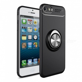 Dayspirit Car Holder Stand Magnetic Bracket Finger Ring TPU Case for IPHONE 5G ,5E