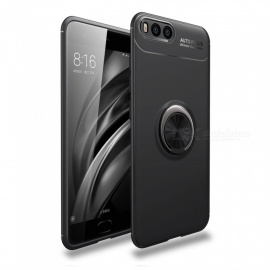 Dayspirit Car Holder Stand Magnetic Bracket Finger Ring TPU Case for Xiaomi Mi 6