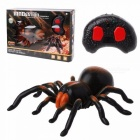 Remote Control Spider Toy Flickering Eyes Wireless RC Pet For Kids Dark Gray