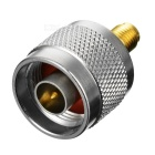 N Male to SMAKKY Female Adapter Plug - Silver