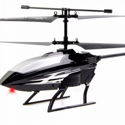 RC Helicopter 2 Channel Mini RC Drone With Crash Resistant RC Toys For Boy Kids Gift Red White Black Black