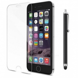 SZKINSTON 3D Tempered Glass Screen Protector Film with Metal Capacitive Pen for IPHONE 8 / 7