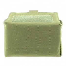 Outdoor Tactical Bullet Purse, Heavy-duty 15-Round Magazine Bag - Army Green