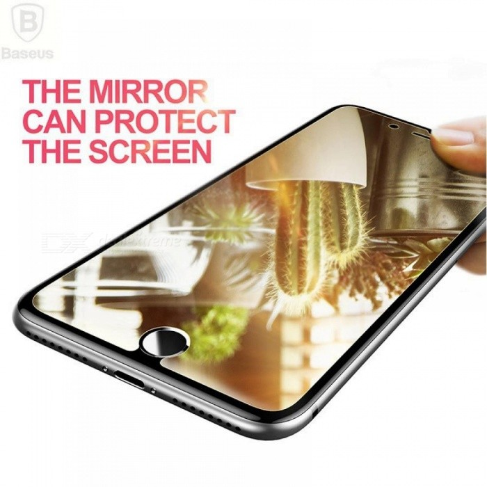 BASEUS Brand Optical Plating Clear Mirror Tempered Glass Screen Protector For IPhone 7 /For IPhone 7 Plus Film Protector