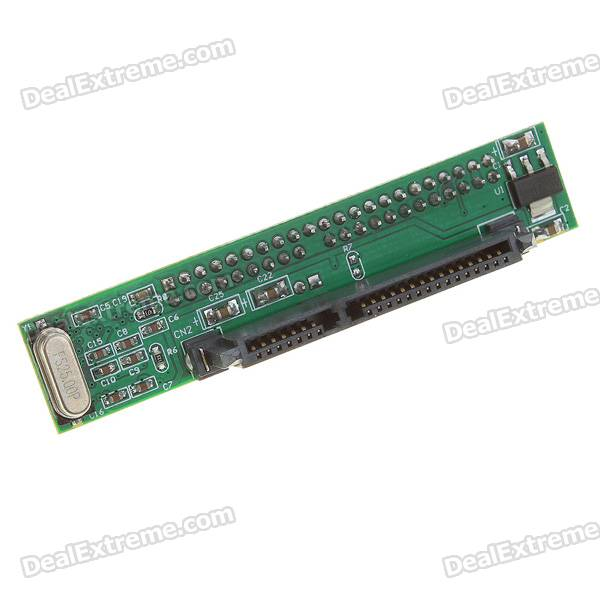 "2.5"" IDE Male to SATA Female PCB Adapter"
