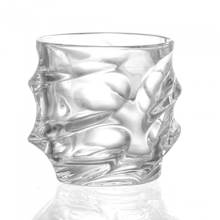 ZHAOYAO Bling Diamond Crystal Wine GlassเธƒเธŒ Lead-free High Capacity Whiskey Vodka Beer Drinking Cup (1 PC)