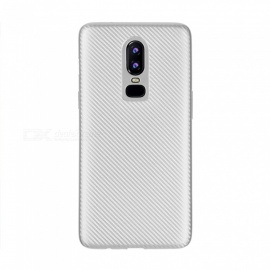 Protective TPU Back Case Cover for OnePlus 6 - Black