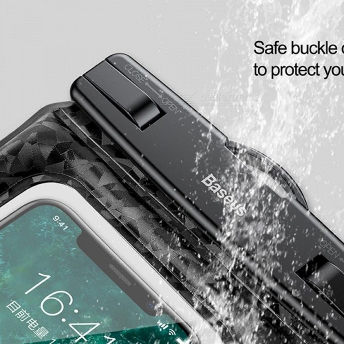 BASEUS Brand 20M Max Waterproof Case Bag For IPhone 6s 6   6s Plus Below 6.0 Inch Cell Phone