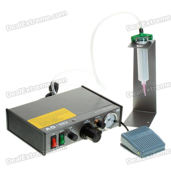 Semi-Automatic Glue Dropper Dispensing ControllerOther Tools<br>Form  ColorBlackPacking List<br>