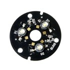 3W 3-LED Emitter on 46mm Board (DC 9V)