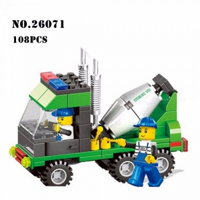 Wange Project Series Assembled Building Blocks Hands-on Bricks Toy Early Childhood Educational Toys Multicolor