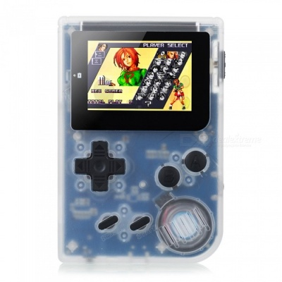 RS-90 Retro Mini Handheld Game Player 32Bit Portable Game Console Built-in 36 Games Support Download MP4 Player Video Black