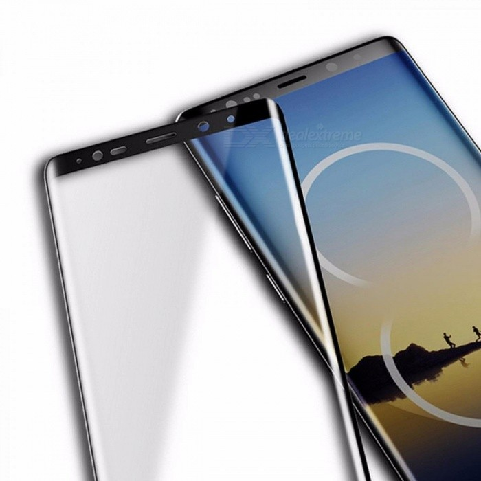 ROCK 0.26mm 3D Curved 9H Full Covery Genuine Tempered Glass Screen Protector For Galaxy Note8