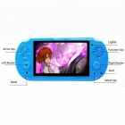 V8 4.3 Inch Handheld Game Players 8GB 32 Bit Video Game Console Support TV Blue
