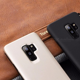Anti-knock  Case For Samsung Galaxy S9 Case Luxury High Quality TPU + Hard Plastic Tough Protective Soft Cover  (S9 PLUS)