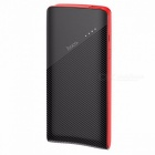 HOCO J4 Portable Power Bank, Lithium Polymer 10000mAh Mobile Phone External Battery Charger With LED Indicator Light Black