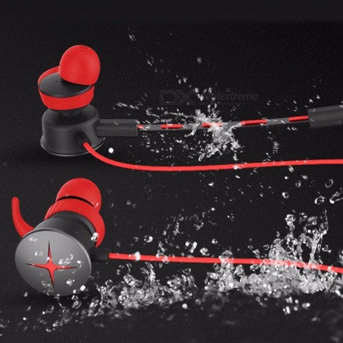 New V7 Computer Gaming Headsets,removable Earphone - Red