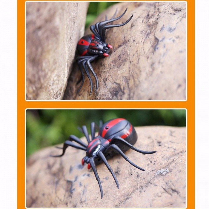 Infrared Remote Control Cockroach Spider RC Toy Mock Realistic Fake Creative Electric Animal Prank Toys