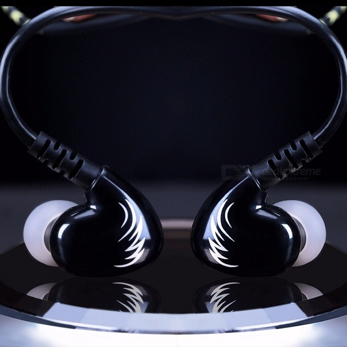 W1B In-ear Music Earphones 3.5mm Wired Stereo Headset Smart Phone Earphone Hands-free With Microphone Volume Control