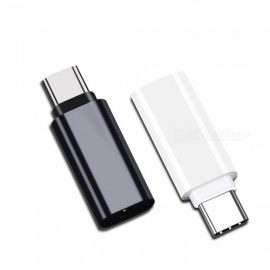 CY UC-075 Type-C to 3.5mm Earphone Adapter USB-C 3.1 Male to AUX Audio Female Converter - White