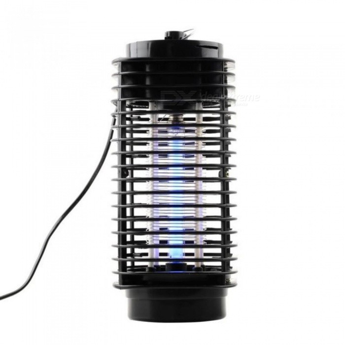 Electronics Mosquito Killer Trap Moth Fly Wasp Led Night Lamp Bug Insect Light Black Killing Pest Zapper EU - Free Shipping - DealExtreme
