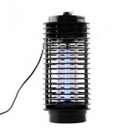 Electronics Mosquito Killer Trap Moth Fly Wasp Led Night Lamp Bug Insect Light Black Killing Pest Zapper EU