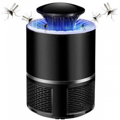 Pest Control Electric anti Mosquito Killer Lamp Mosquito Trap LED Pest Catcher Repeller Bug Insect Repellent  Black