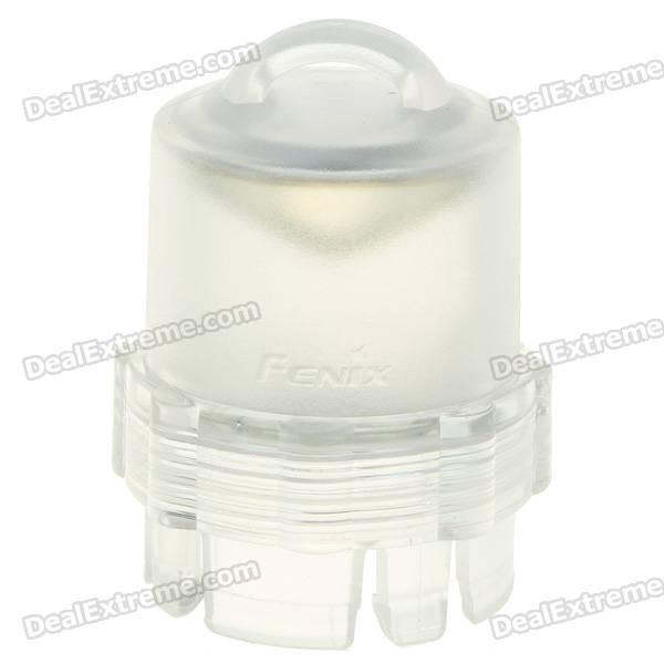 Fenix Flashlight Camping Lampshade Adapter - Transparent White