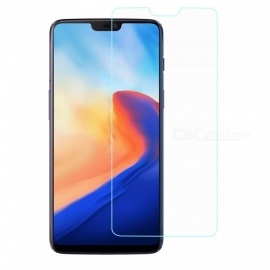 Mini Smile 0.2mm Ultra-thin 9H Hardness Explosion-Proof Tempered Glass Screen Protector for Oneplus 6 - Transparent
