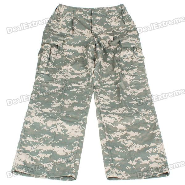 Military Durable Combat Camouflage Trousers Pants (Size-S)
