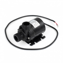 Magnetic DC 12V Electric Brushless Centrifugal Water Pump 3M Fountain 14mm & 14mm Suitable for Water Oil and Acid-base Solutions