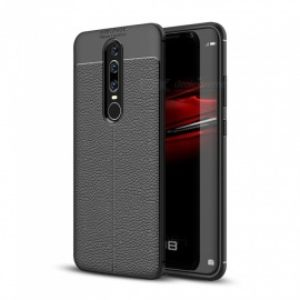 Dayspirit Lichee Pattern Protective TPU Back Cover Case for Huawei Mate RS Porsche Design - Black