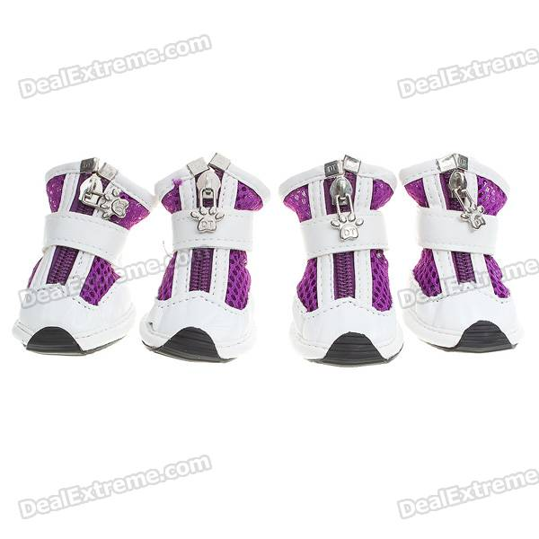 Cute Walking Shoes for Pets/Dogs - Color Assorted (Size XL/2-Pair)