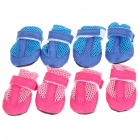 Cute Walking Shoes for Pets/Dogs - Color Assorted (Size M/2-Pair)