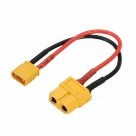 10cm 20AWG XT60 Female Plug to XT30 Male Plug Cable Adapter Connector for Battery Charging Spare Parts RC Models Accessories