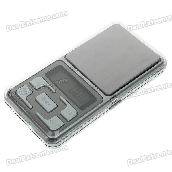 Tragbare Digital Pocket Scale - 500g / 0.1g (2 * AAA)