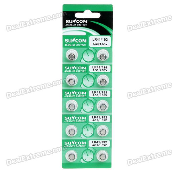 все цены на AG3 1.55V Alkaline Cell Button Batteries (10-Piece Pack/2-Pack Set) онлайн