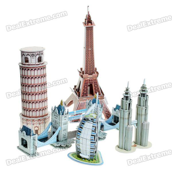 3D World Famous Mini Architecture Series 1 Puzzle