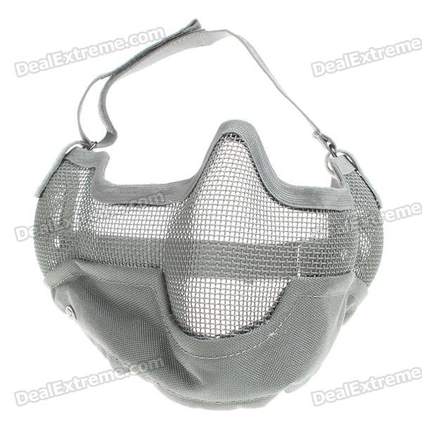 Tactical Steel Mesh Protect Mask for War Game (Caesious)