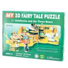 3D Puzzle Goldilocks & Three Bears