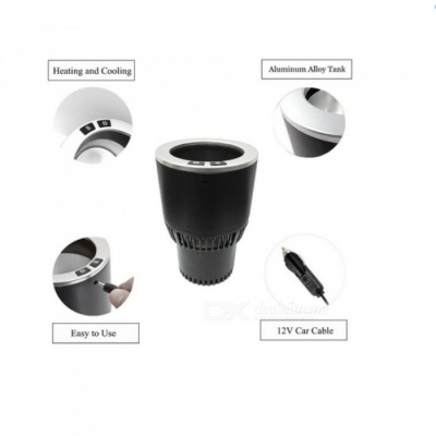 Car Hot and Cold Cup Holder for Auto Cooler Warmer Using