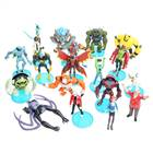 Set of 19 Ben 10 Figure Toys with 12 Bases - Style/Color Assorted