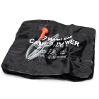 Solar Outdoor Camping Shower Bag - Black (40 Liters/10 Gallons)