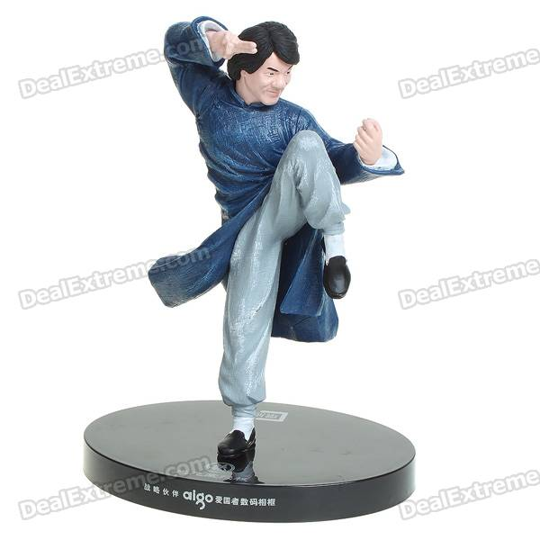 Kung fu Drunker Style Jackie Chan Figure Toy 2600mah dxman mobile power bank tube black yellow kung fu style
