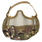Tactical Steel Mesh Protective Mask for War Game