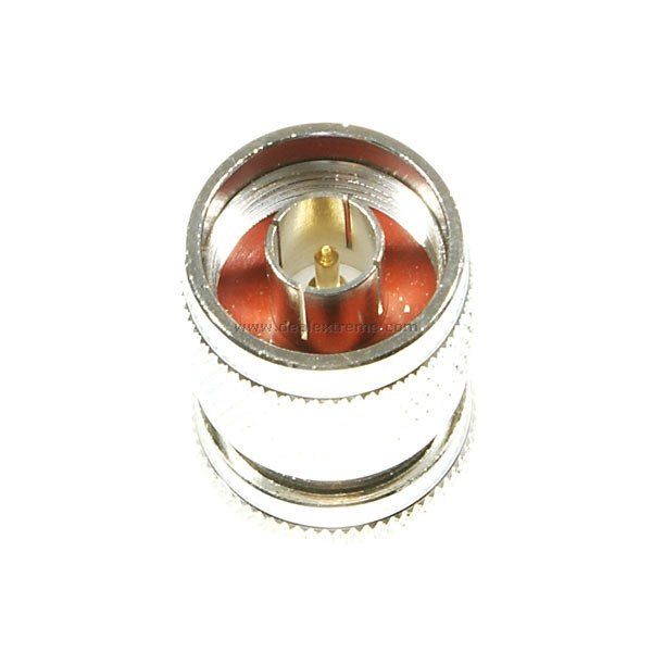 N-Cable Male to TV Male Adapter Plug