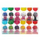 Colorful Rubber Sucker Stand for Iphone/Ipad/MP3/MP4 - Color Assorted (12-Piece Pack)