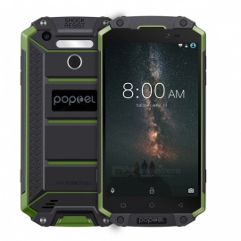 POPTEL P9000MAX IP68 Waterproof  4G Phone w/ 4GB RAM, 64GB ROM - Global Version / Military Green