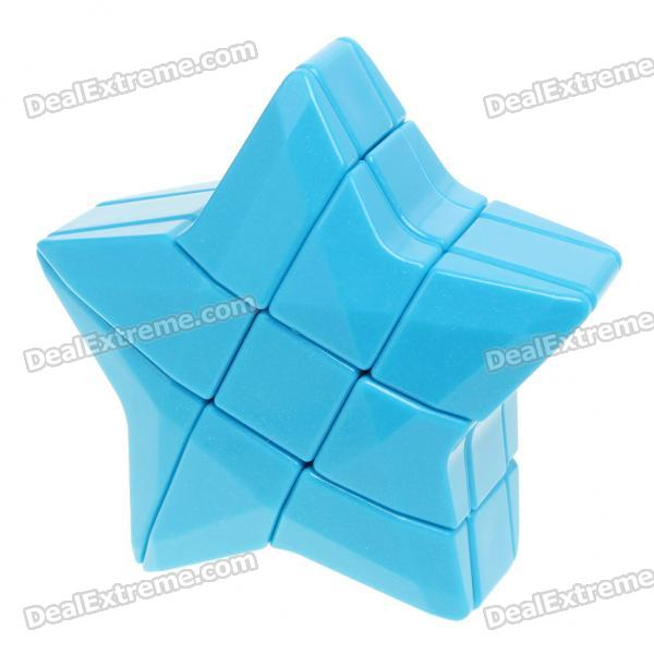 Magic Cube IQ Puzzle Star - Color Assorted yj8305 3x3x3 three layers magic cube puzzle toy