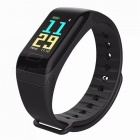 F1 PLUS Bluetooth Smart Watch Bracelet with Heart Rate / Blood Oxygen Pressure Monitoring - Black